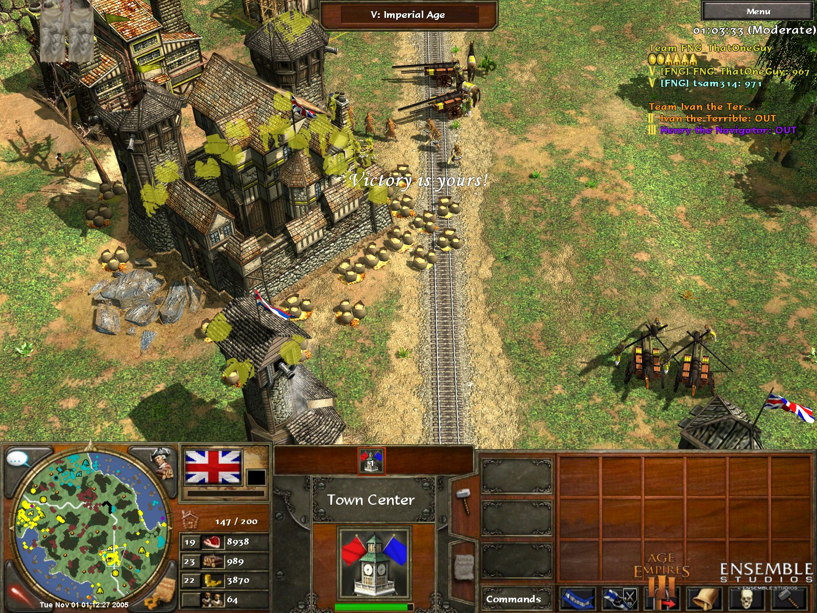 My First Age of Empires III Screenshots